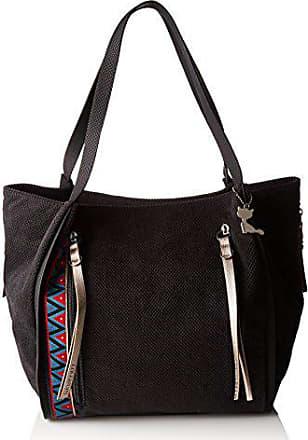 eb112af36b Lollipops femme Animal Bucket Shopper Sac porte epaule Noir (Black)