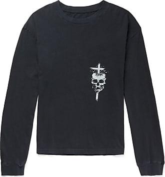 Rta 49 Oversized Printed Cotton-jersey T-shirt - Black