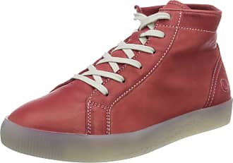 Softinos Womens Sali583sof Hi-Top Trainers, Red (Red 004), 7 UK