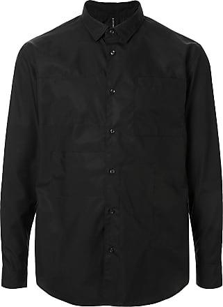 Blackbarrett Camisa lisa mangas longas - Preto