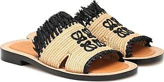 Loewe Paulas Ibiza Sandalen aus Raffiabast