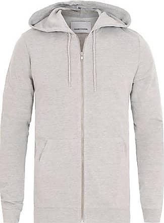 Samsøe & Samsøe Enno Full Zip Hoodie Light Grey Melange