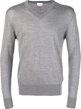 Ballantyne Suéter de tricô canelado - Cinza