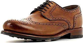 Schuhe LEVET braun Herrenschuhe rahmengenähte Schuhe 2318-B brown Gordon /& Bros