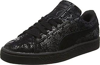 51cb8e2b4f80 Puma Damen Suede Remaster Sneakers, Schwarz (PUMA BLACK 01PUMA BLACK 01), 40