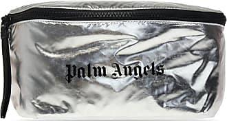Palm Angels Branded Belt Bag Mens Silver
