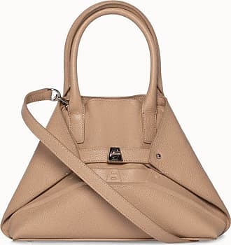 MQaccessories Little Aicon Handbag in leather