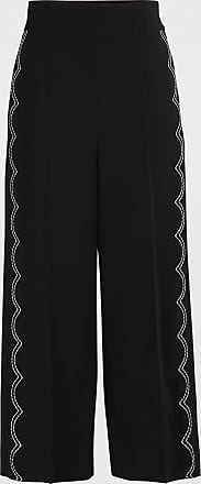 Red Valentino Cropped stretch pants