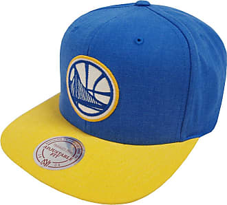 sports shoes 20486 5af1c Mitchell   Ness Golden State Warriors Snapback Cap - Royal-Yellow Adjustable