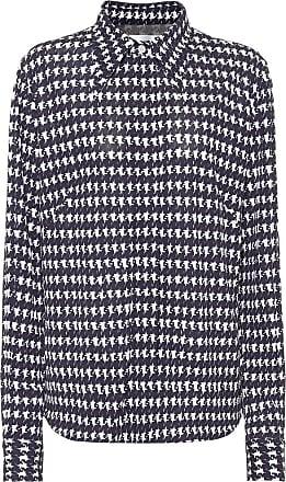 Victoria Beckham Houndstooth-print shirt