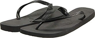 Havaianas Top Flip Flops (Black) Mens Sandals