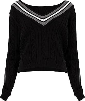 Y / Project Suéter de tricô - Preto