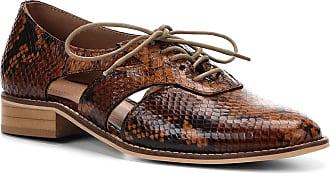 cae03193cc Shoestock Oxford Couro Shoestock Wild Snake Feminino - Feminino