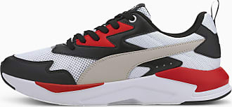 Puma Chaussure Basket X-Ray Lite, Noir/Gris/Rouge, Taille 37.5, Chaussures