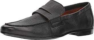 e4f410ab7ee Gordon Rush Mens Connery Penny Loafer Black 10.5 Medium US