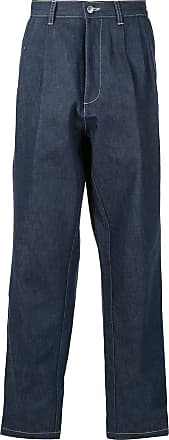 E. Tautz Calça jeans pantalona - Azul