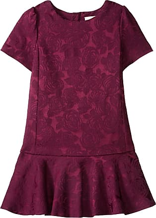 Kate Spade New York Kate Spade New York Girls Toddlers Drop Waist Dress, Midnight Wine, 6