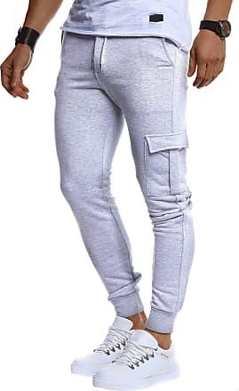 LEIF NELSON Men Sweatpants LN-8216 Grey X-Large