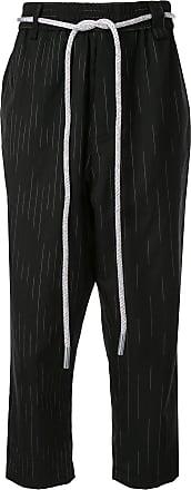 Necessity Sense Calça com amarração na cintura - Preto