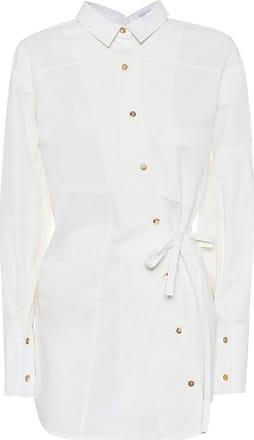 Rejina Pyo Tatiana asymmetrical cotton shirt