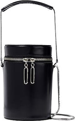 215a8921f84 3.1 Phillip Lim 3.1 Phillip Lim Woman Soleil Glossed-leather Bucket Bag  Black Size