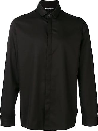 Neil Barrett Camisa com fechamento oculto - Preto