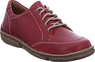 Josef Seibel Women Ankle Boots Neele 34, Ladies lace Ankle Boot, Boots,Chukka Boot,Half Boots,Lace Up,Bootie,Zipper,Hibiscus,37 EU / 4 UK