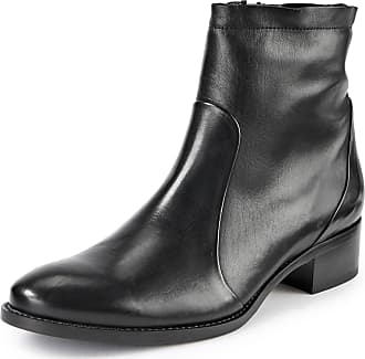 Högl Ankle boots in 100% leather light taupe