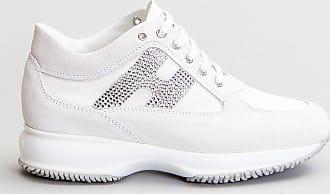 Reposi Calzature HOGAN Interactive - Sneakers in suede e tessuto grigio chiaro bianco