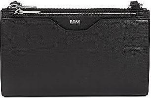 BOSS Mini handbag in grained Italian leather