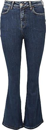Triton Calça Jeans Triton Flare Pesponto Azul