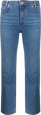 Sandro Calça jeans cropped - Azul