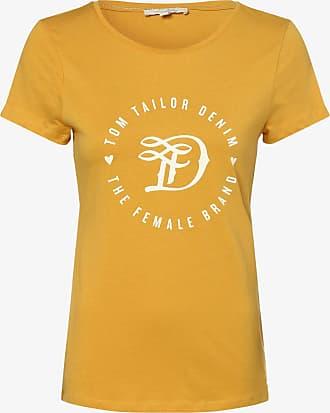 Tom Tailor Denim Damen T-Shirt gelb
