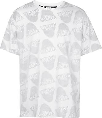 Haculla Watching You drop-shoulder T-shirt - White