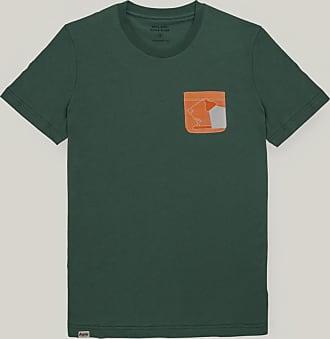Brava Fabrics Mens T-Shirt - Mens Tee - Cotton Tee for Men - 100% Cotton - Model Orange Flexo