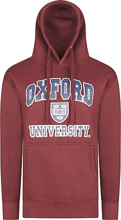 Oxford University Official Licensed Printed Pullover Hoodie Cotton Blend Souvenir Gifts Unisex Mens Womens + One Free T-Shirt (XX-Large, Burgundy)