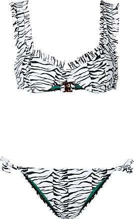 Rixo Conjunto de biquíni estampado - Branco
