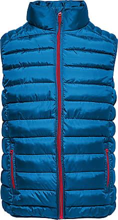 Only & Sons Mens New Liner Puff Gilet Regular fit Jacket (Medium, Indigo)