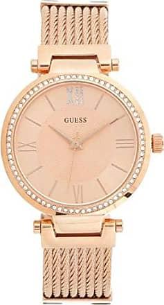 Guess Relógio Feminino Guess Aço Colorido Rose Gold 92580LPGVRA4 Analógico, Pulseira Náutica e Mostrador em Relevo