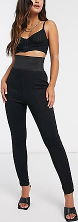 I Saw It First Leggings mit hoher Taille in Schwarz
