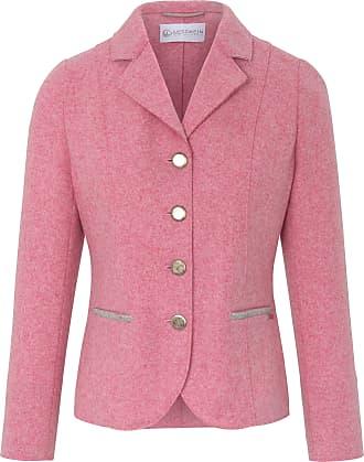 Giesswein Blazer in 100% new milled wool Giesswein pale pink