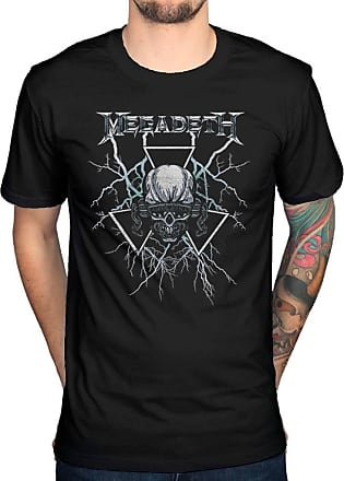 AWDIP Official Megadeth Elec Vic T-Shirt Black