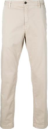 White Sand straight-leg trousers - Neutro