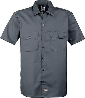 Dickies Short Sleeve Work Shirt - Kurzarmhemd - charcoal
