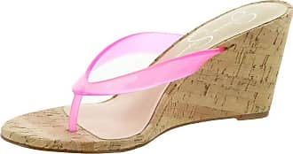 Jessica Simpson Womens Coyrie2 Wedge Sandal, Pink, 5.5 UK