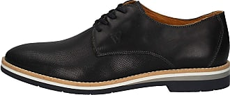 Valleverde 13846 Genuine Leather Microperforated Blue Mens Shoes Low Casual Blue Size: 8.5 UK