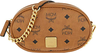 MCM Belt Bags - Essential Visetos Original Belt Bag Small Cognac - cognac - Belt Bags for ladies
