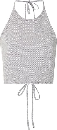 Framed Top cropped Petit Bubbles - Branco