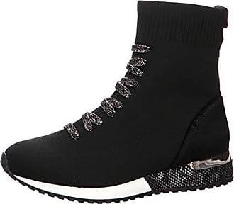 9be8c904df5e9 La Strada 1717154 - Damen Schuhe Sneaker Stiefel Freizeitschuhe -  Knitted-Black