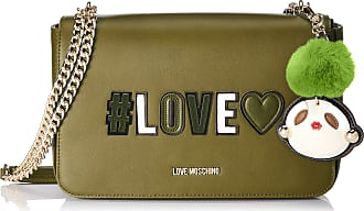 Love Moschino Borsa Pu, Womens Satchel, Green (Verde), 6x18x29 cm (B x H T)